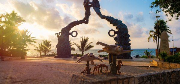 Playa Del Carmen Mexico Parque Fundadores